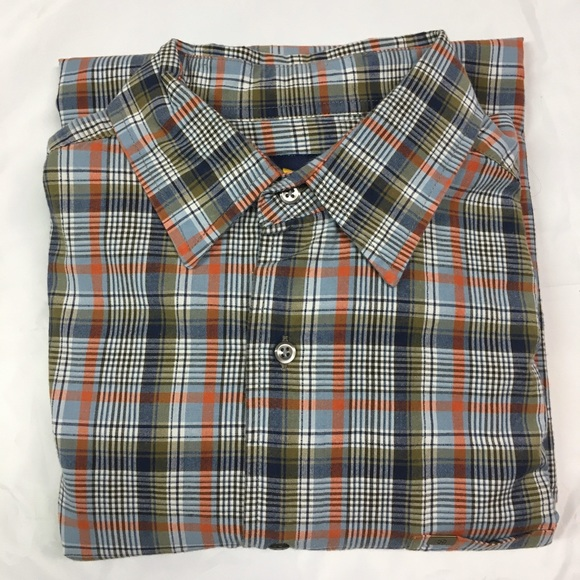 Nautica Other - Nautical Medium Long Sleeve Bl/Green Plaid Shirt